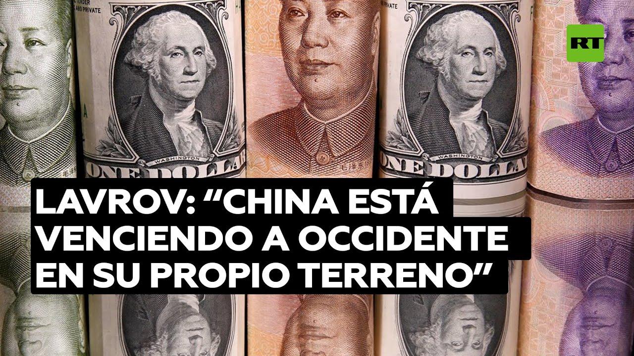 """""""China vence a Occidente en su propio terreno"""" Lavrov alaba los éxitos del gigante asiático"""