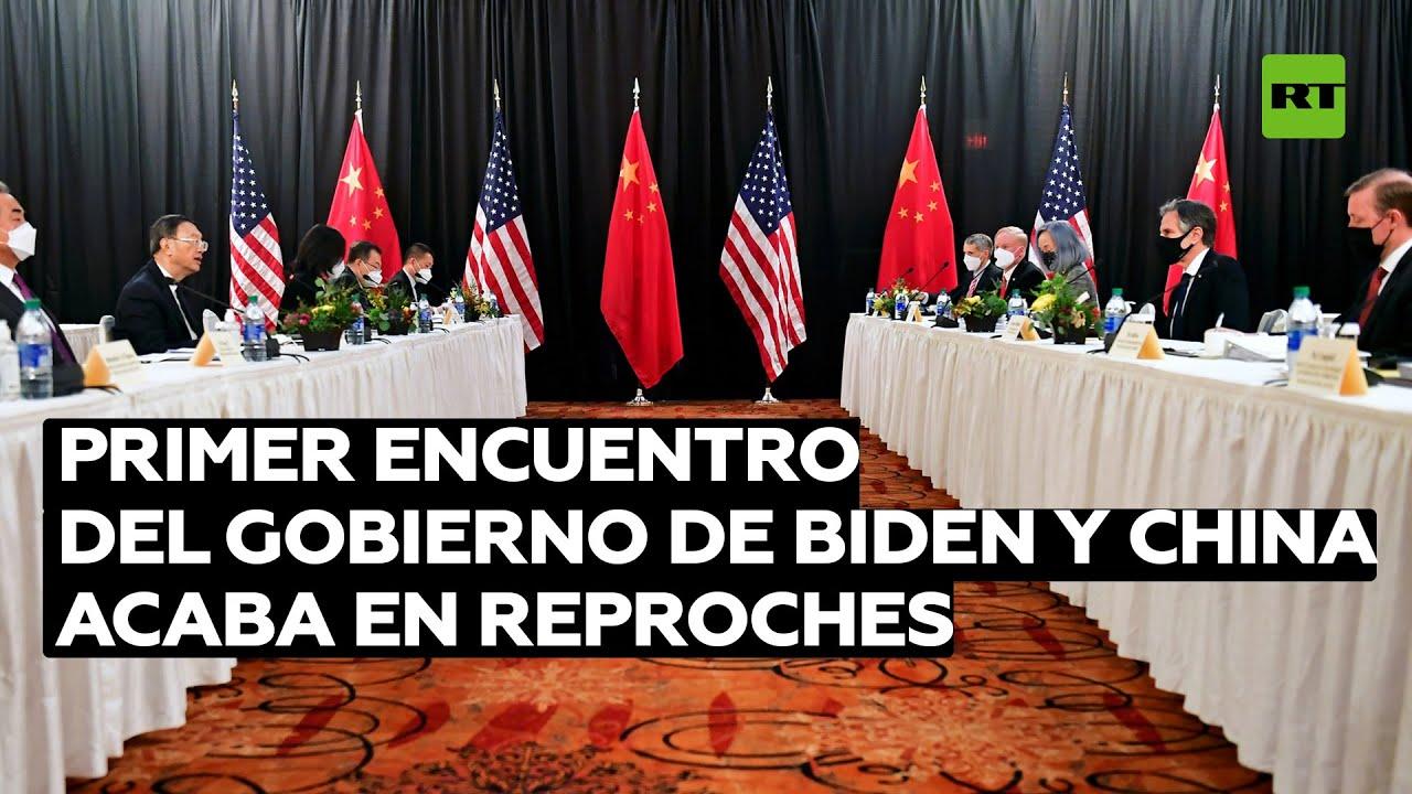 """EE.UU. acusa a China de """"amenazar el orden basado en reglas"""""""