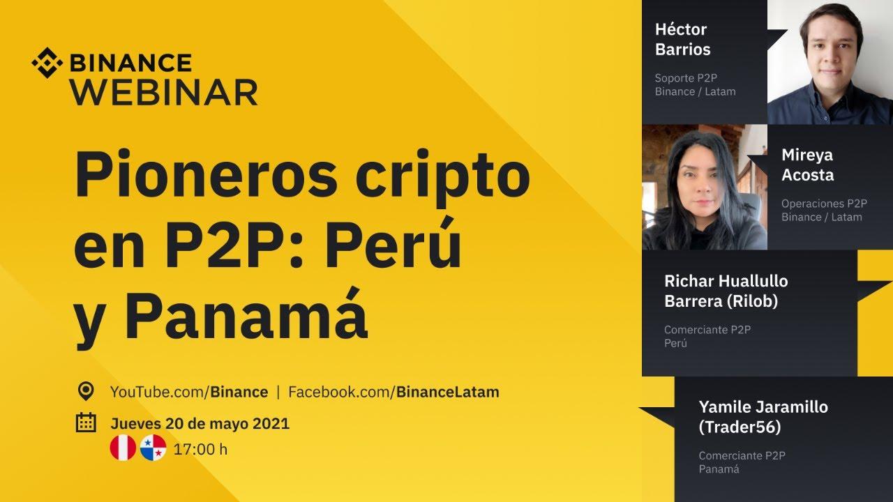 Pioneros cripto en P2P: Peru y Panamá