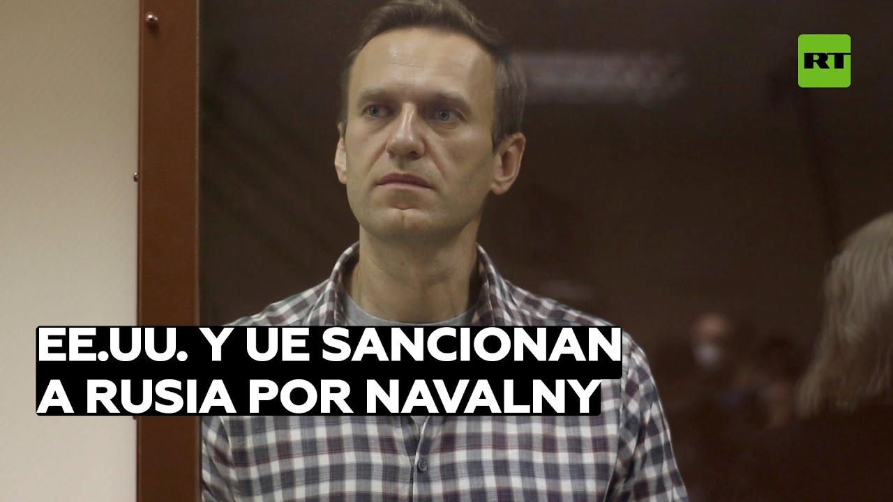La UE y EE.UU. imponen sanciones contra Rusia por el caso de Alexéi Navalny