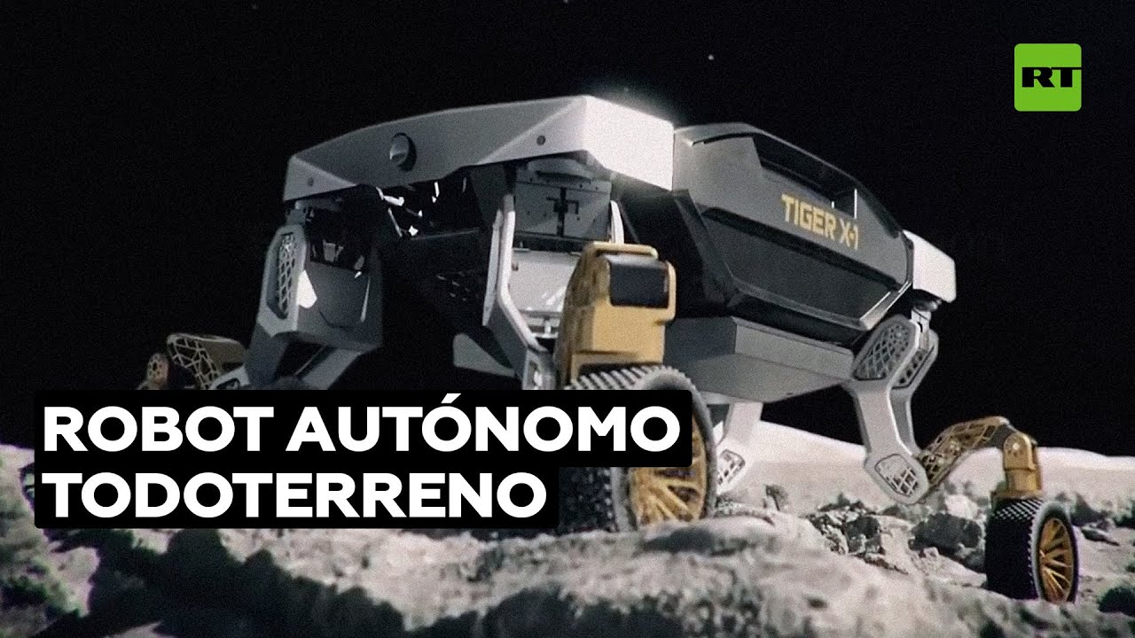 Así es TIGER: el nuevo robot todoterreno de Hyundai Motor