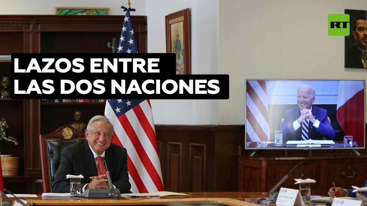 Los temas de López Obrador y Biden en su primera videoconferencia