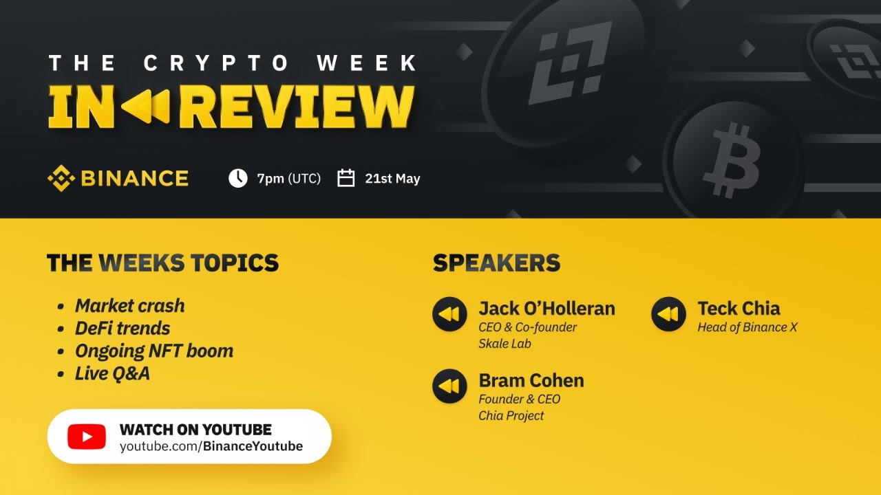 Crypto Week in Review #3: Market crush, NFT updates, DeFi growth and more