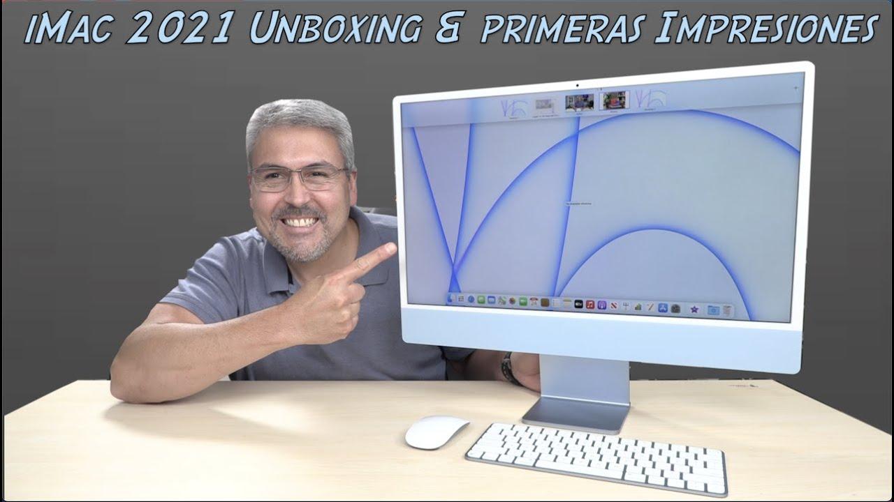 """Nueva iMac 24"""" Unboxing,  Primeras Impresiones y cuál es el mercado"""