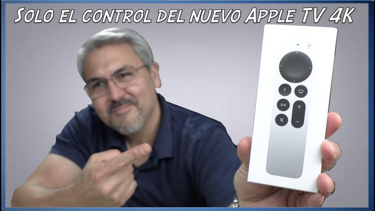 Compré solo el control del Apple TV 4K para ver si funciona en la primera generación