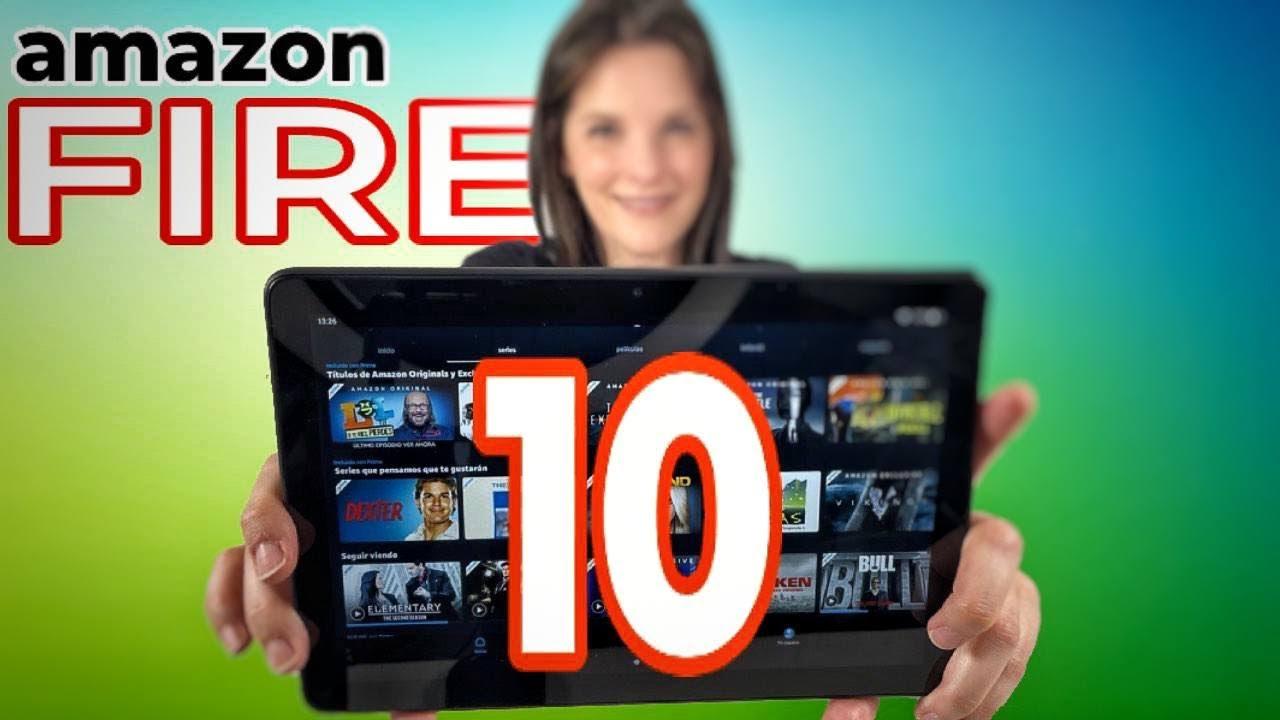 Tablet Amazon FIRE HD 10   ¿es la mejor COMPRA?
