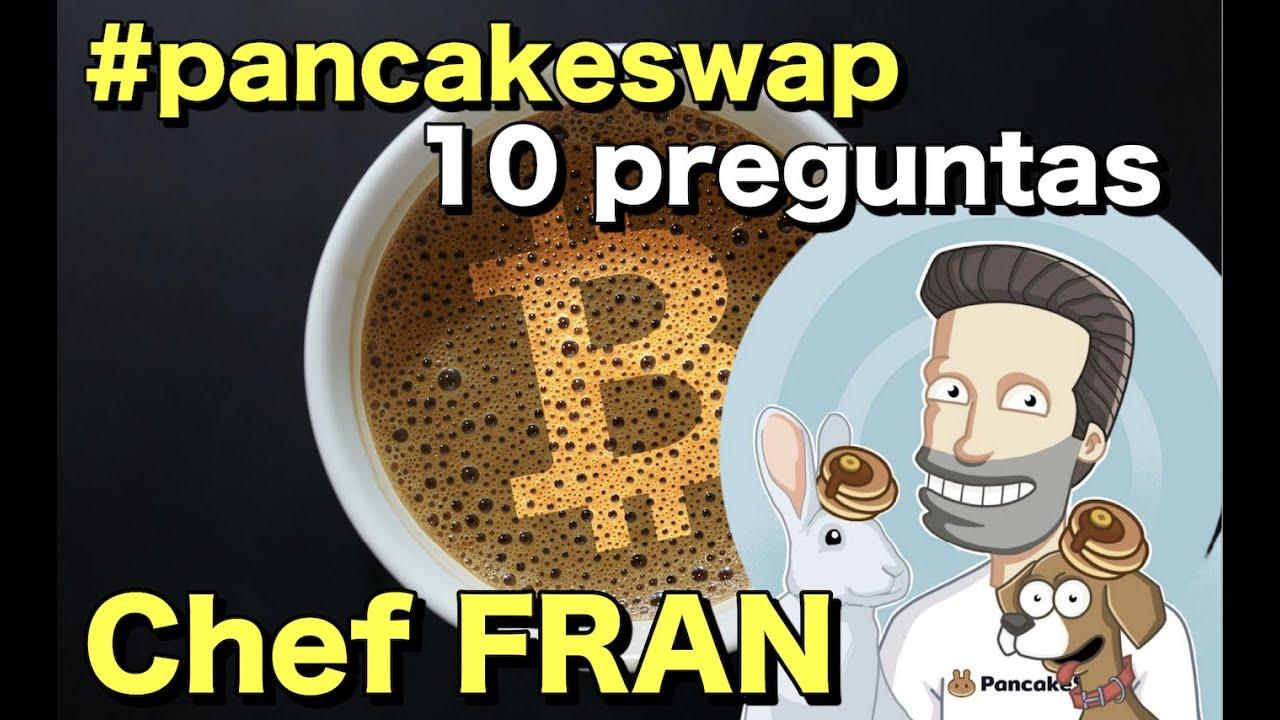 """🥞 Chef """"Fran"""" de #PancakeSwap🐰 en Cafe y Crypto"""