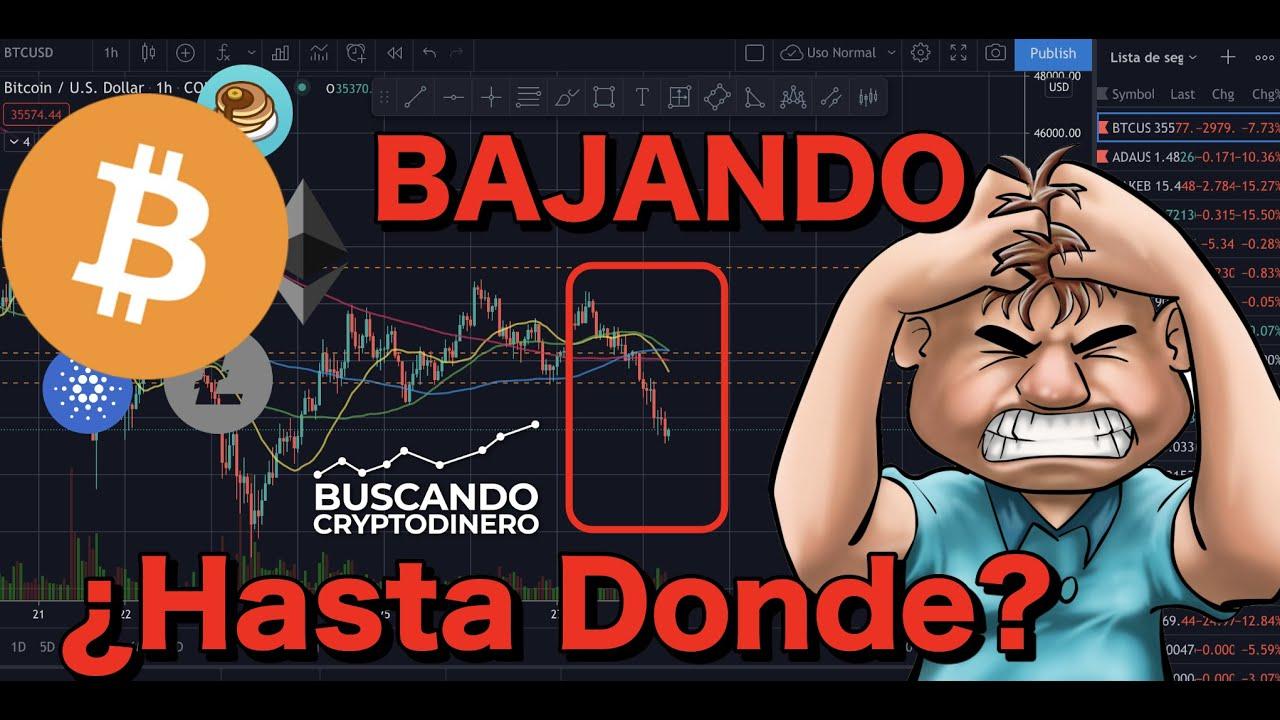 😵💫 Bitcoin BAJANDO ¿HASTA DONDE? + 6 monedas y 2 rifas !!