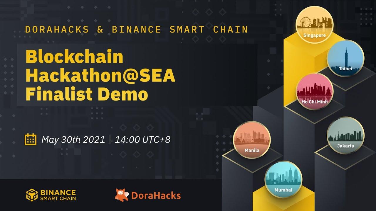The DoraHacks BSC South East Asia Hackathon grand finale dmo day.