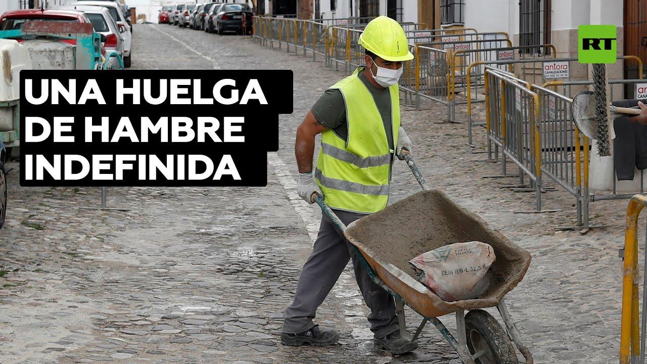 España: Empleados públicos temporales exigen estabilidad en sus puestos