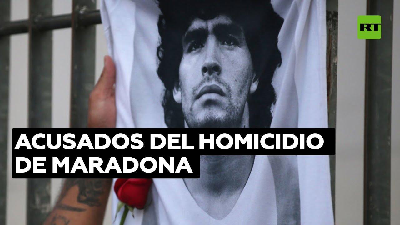 Prohíben salir del país al médico y psiquiatra de Diego Maradona