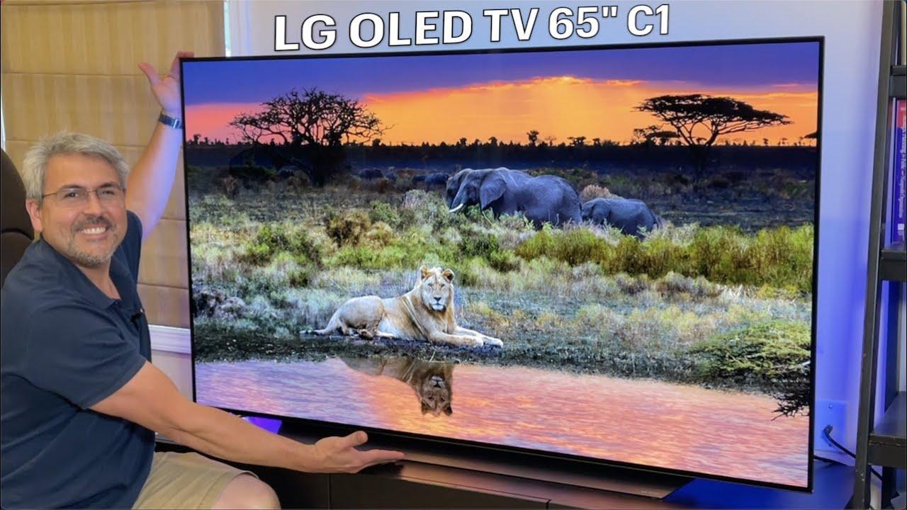 """El nuevo LG OLED C1 TV 65"""" 4K del 2021 es Imponente REVIEW"""