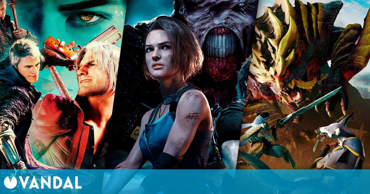 Capcom anuncia beneficios récord en el año fiscal gracias a Monster Hunter y Resident Evil