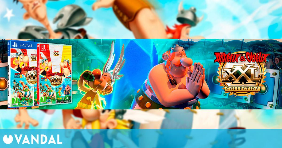 Astérix & Obélix XXL: Collection se lanza en Nintendo Switch y PS4 el 25 de mayo