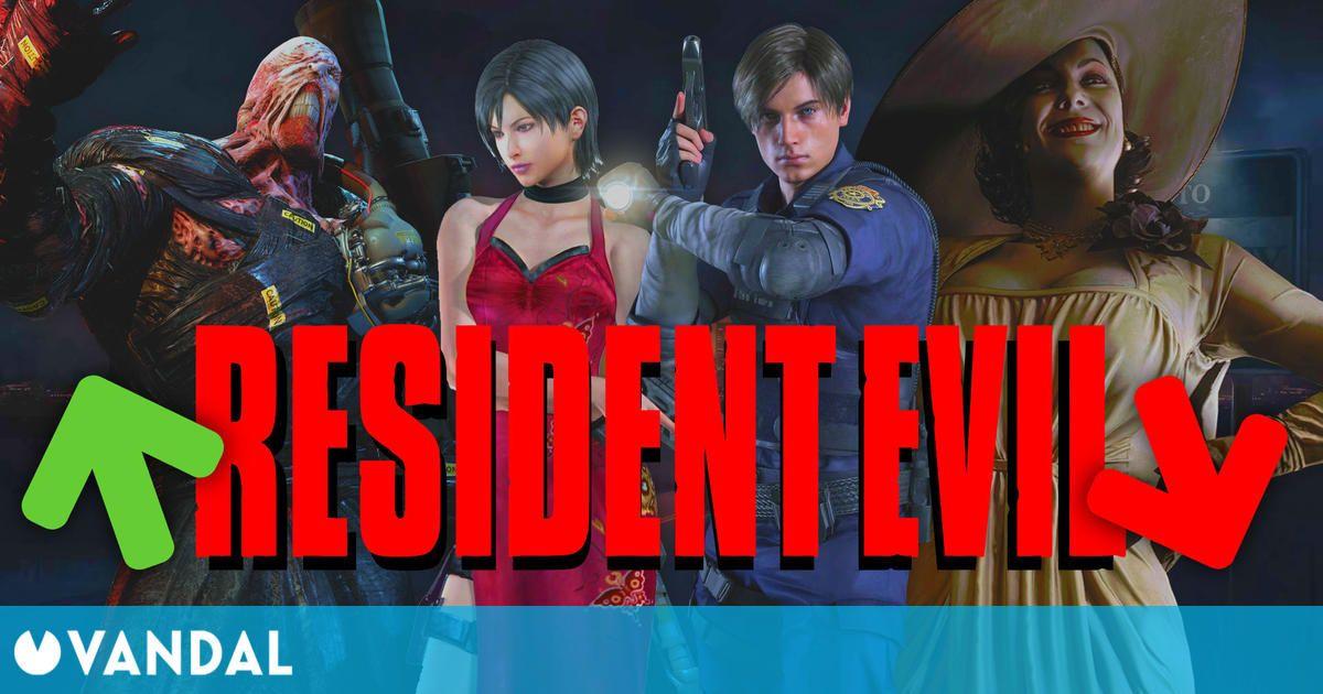 Resident Evil: Las entregas mejor y peor valoradas por la crítica