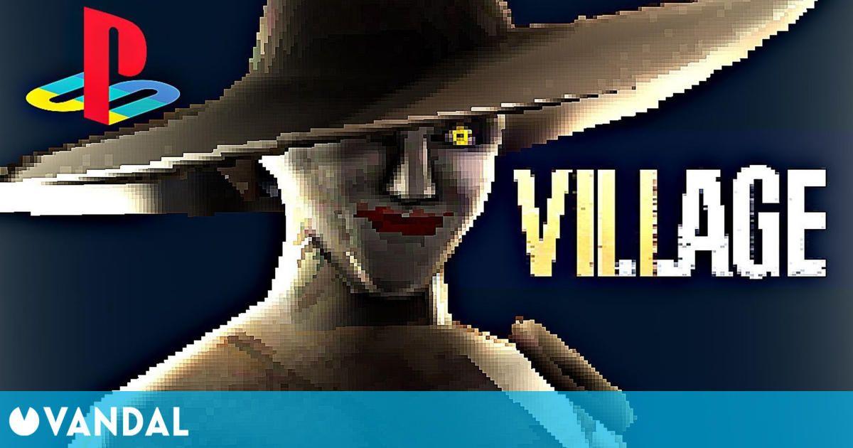 Imaginan cómo sería Resident Evil 8 Village en la primera PlayStation