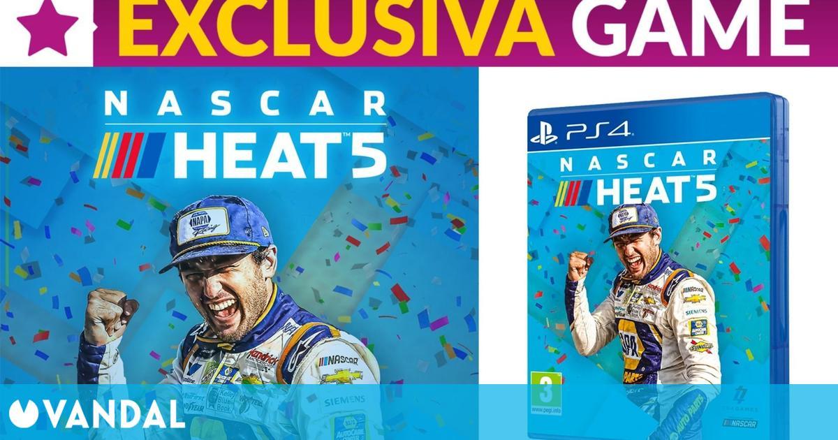 La edición física de NASCAR Heat 5 ya se puede reservar en GAME