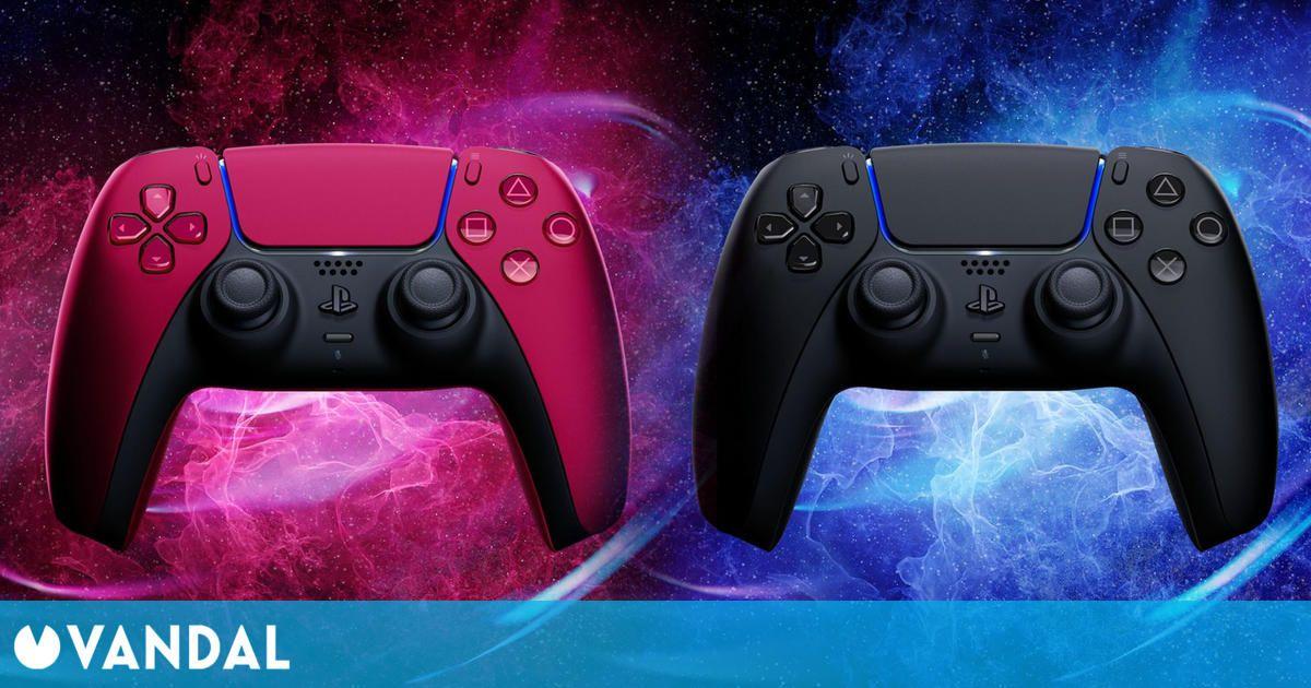 PS5 recibirá dos nuevos DualSense en colores rojo y negro el 18 de junio