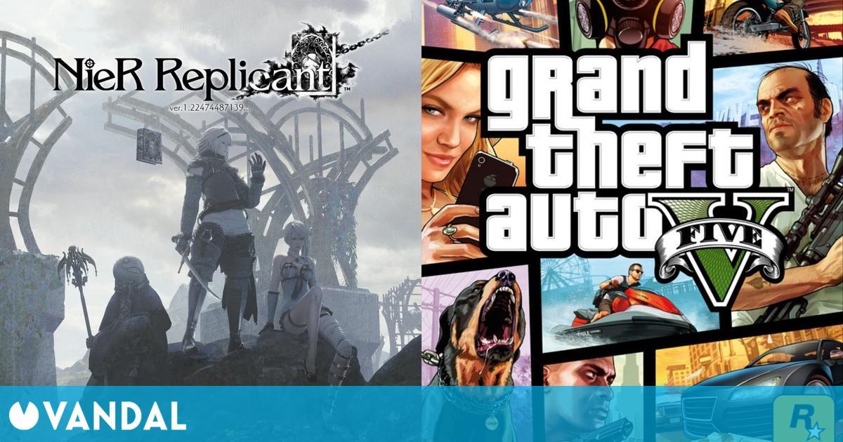 Nier Replicant no pudo desbancar a GTA 5 como el juego más vendido en su debut en España