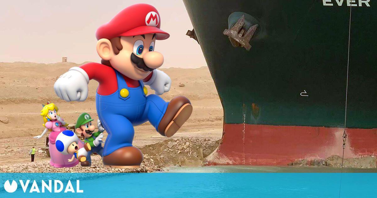 Nintendo confirma que el bloqueo del Canal de Suez ha afectado a la distribución de Switch