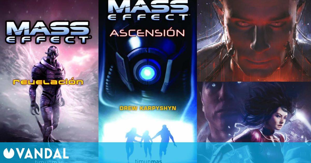 Las novelas de Mass Effect y en qué orden leerlas: Revelación, Ascensión, Castigo y Engaño
