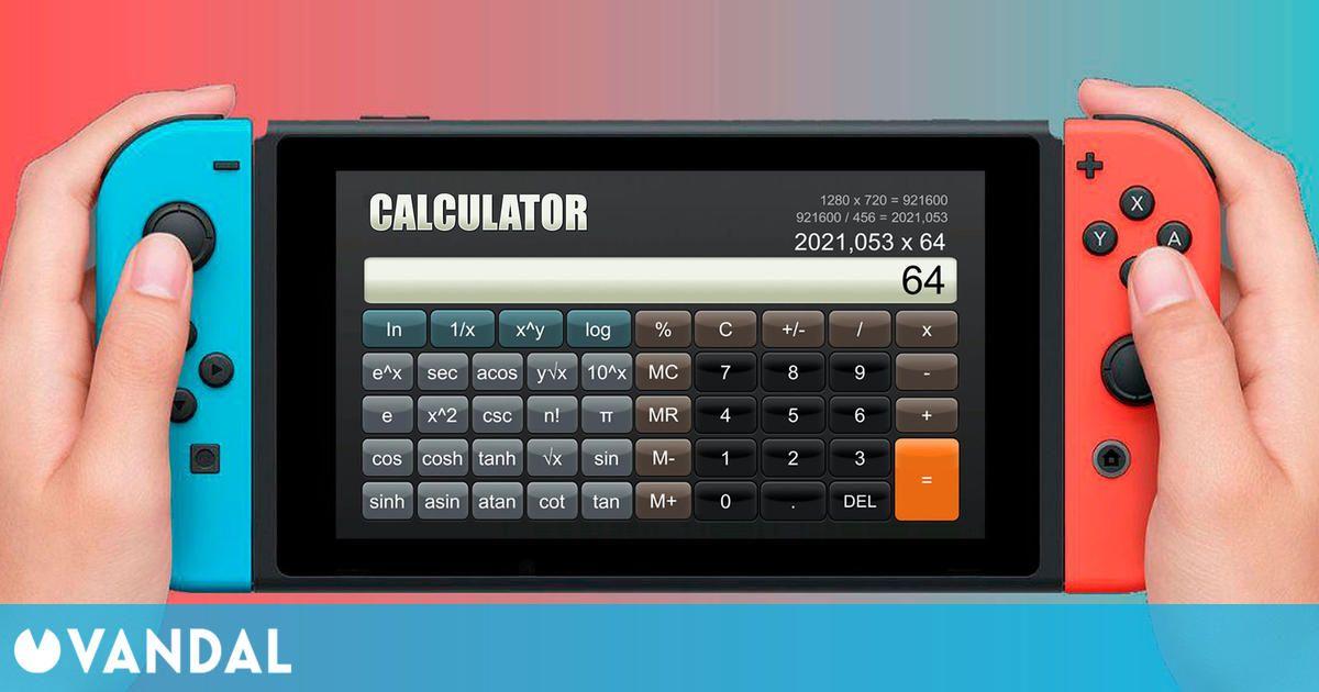 Los fans escriben divertidas reseñas en Metacritic de Calculator, la calculadora de Switch
