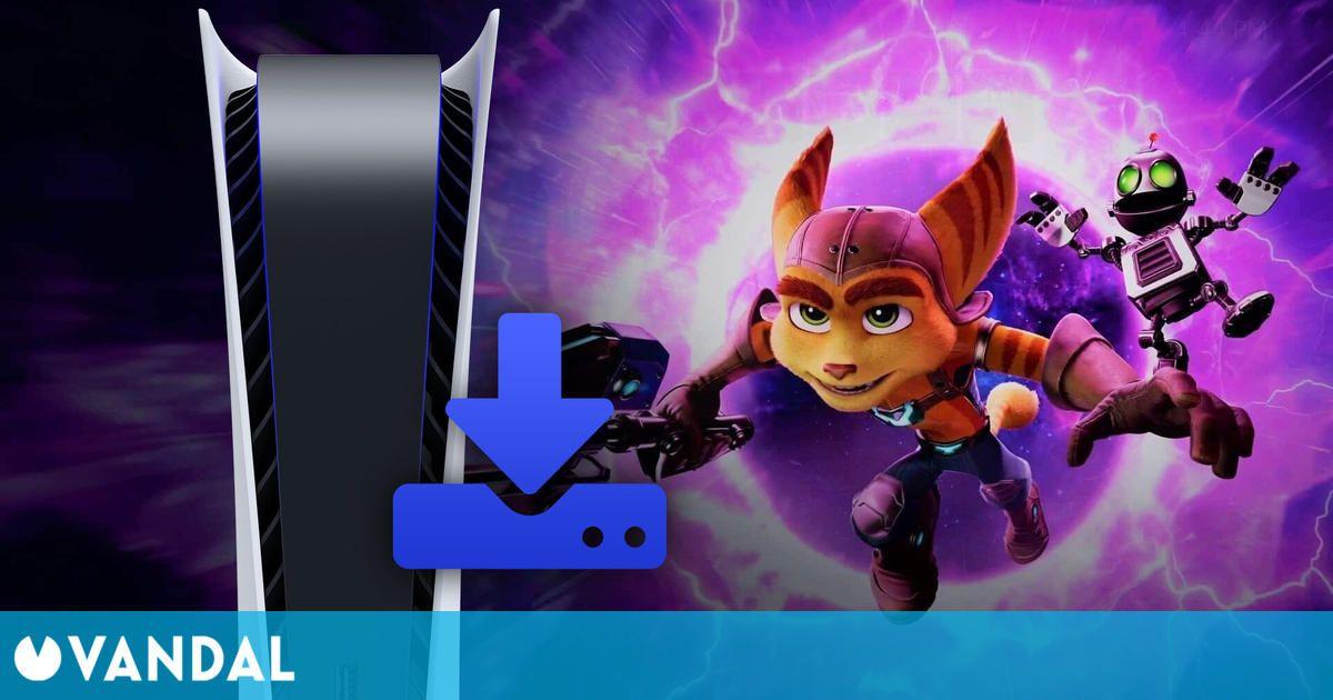 Ratchet and Clank: Una Dimensión Aparte ocupará 42 GB en el SSD de PS5