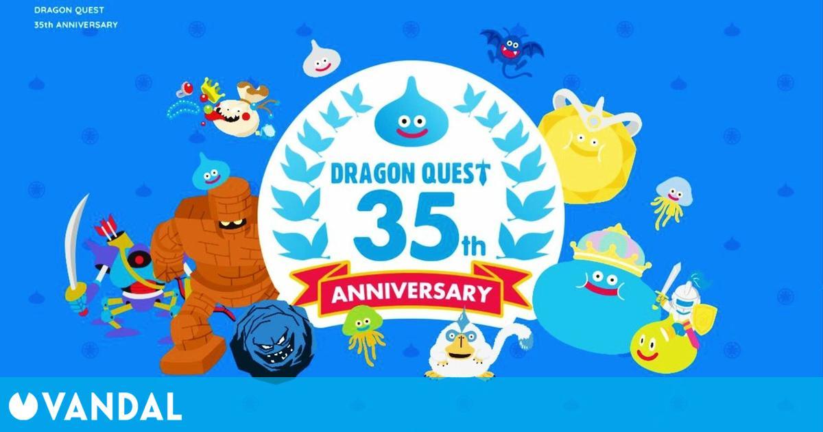 El creador de Dragon Quest anticipa 'un montón' de anuncios en el streaming de aniversario