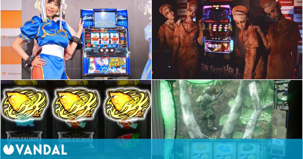 Grandes sagas de videojuegos que han sido adaptadas a máquinas pachinko