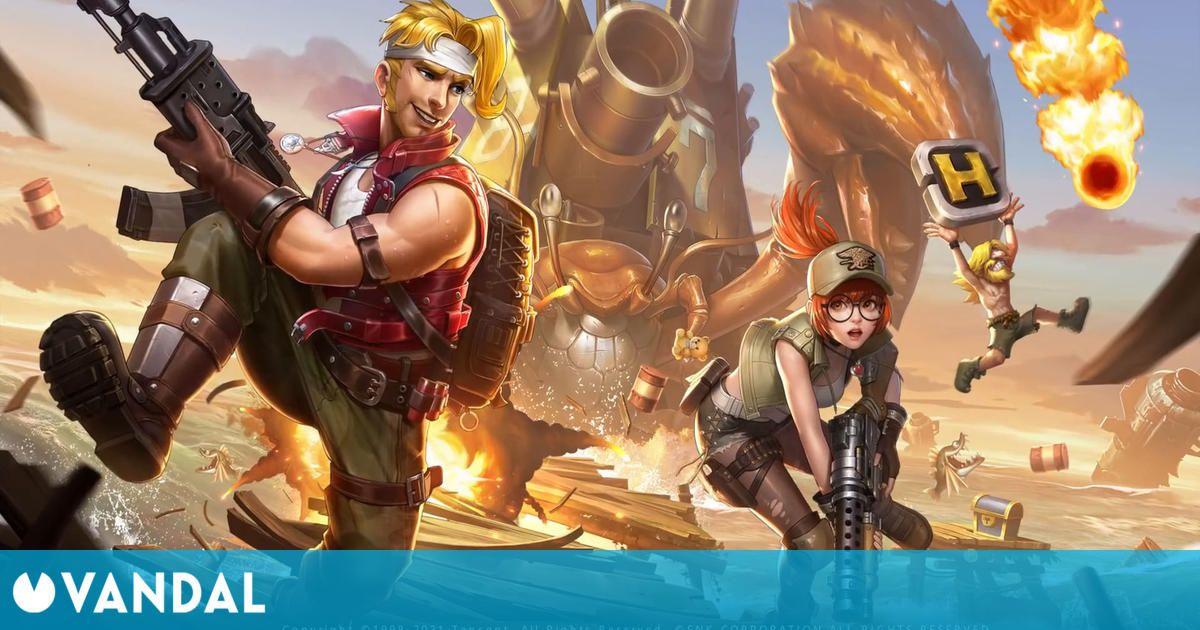 Metal Slug Code: J para móviles presenta su primer vídeo de gameplay