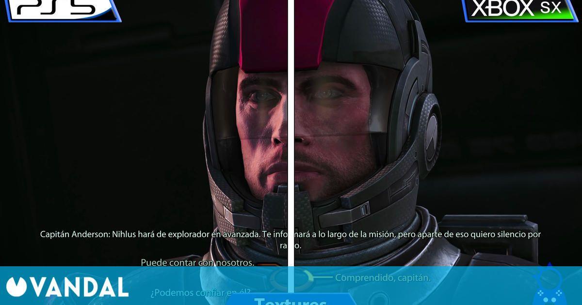 Así se ve Mass Effect: Legendary Edition en Xbox Series X vs PS5