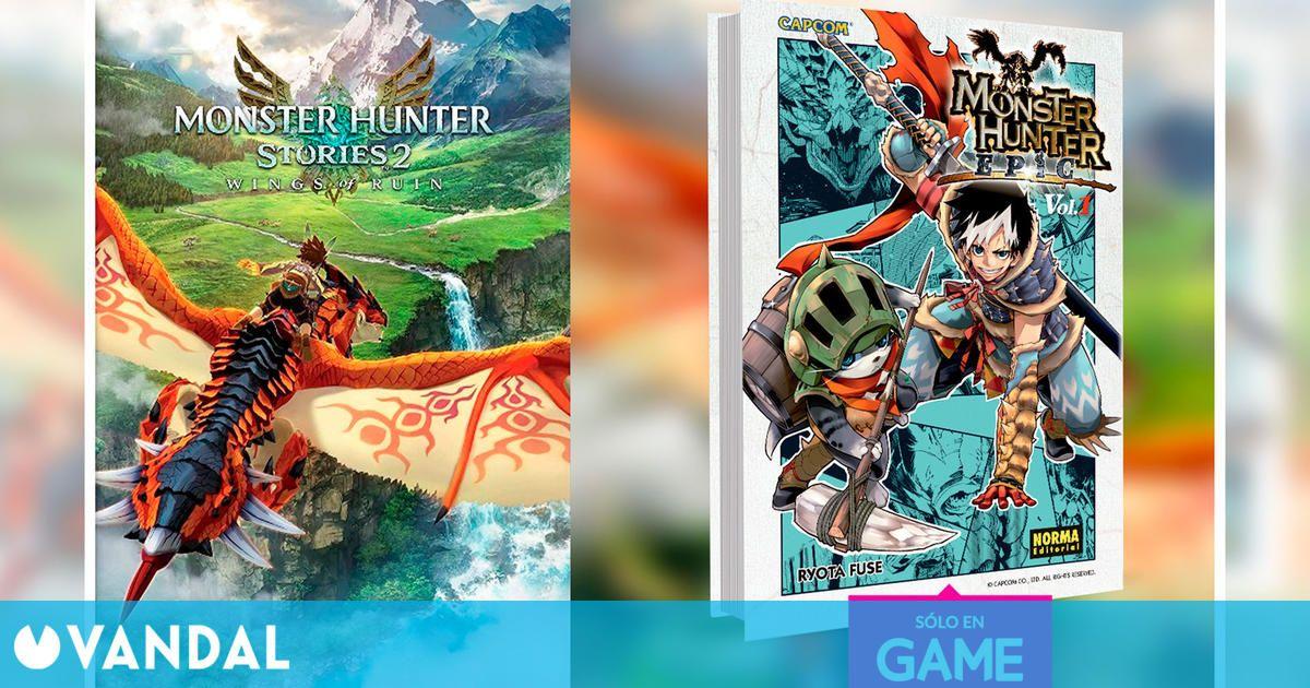 GAME España anuncia el incentivo de reserva de Monster Hunter Stories 2: Wings of Ruin