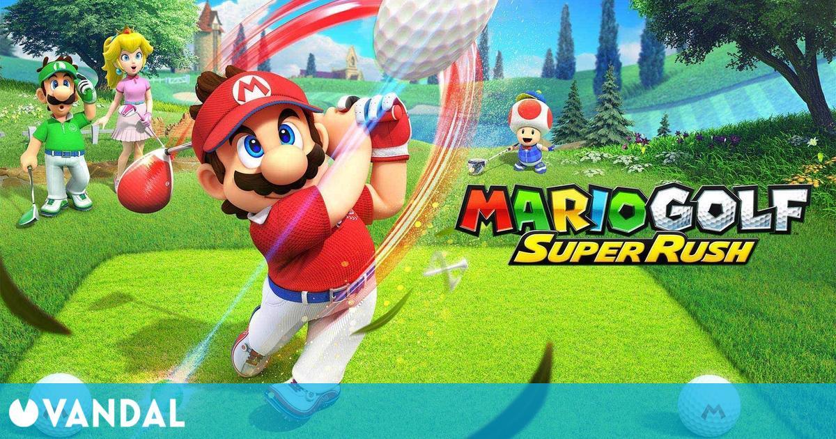Mario Golf: Super Rush recibe un tráiler con la lista de personajes y nuevos modos