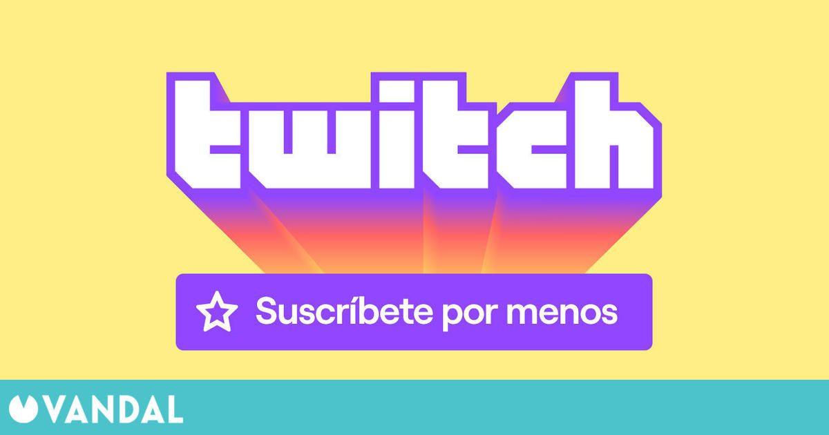 Twitch bajará los precios de las suscripciones durante el 2021 en España