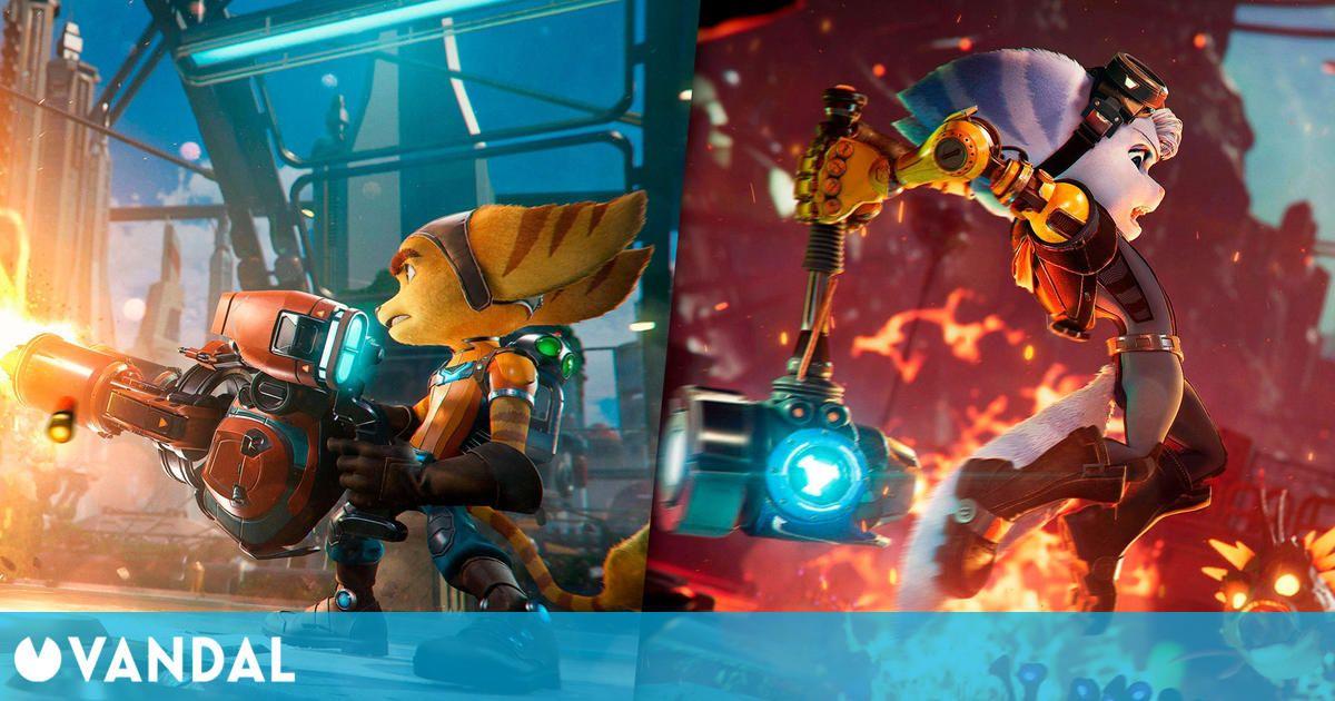 Ratchet & Clank: Una Dimensión Aparte detalla su divertido y variado arsenal