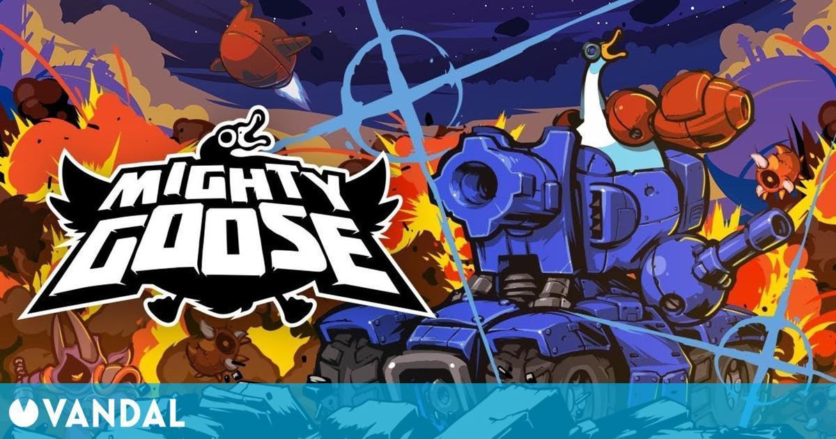 La loca acción de Mighty Goose llegará a PS5, Switch, Xbox Series y PC el 5 de junio