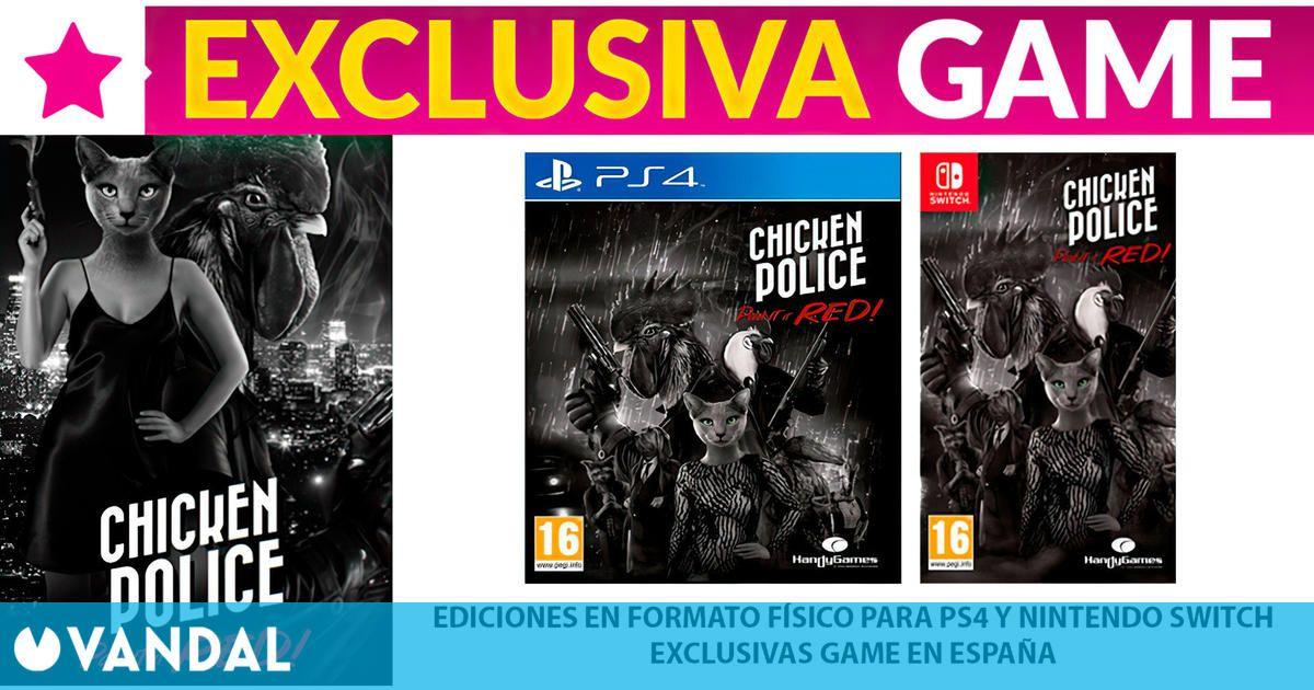 GAME España abre las reservas de la edición física exclusiva de Chicken Police