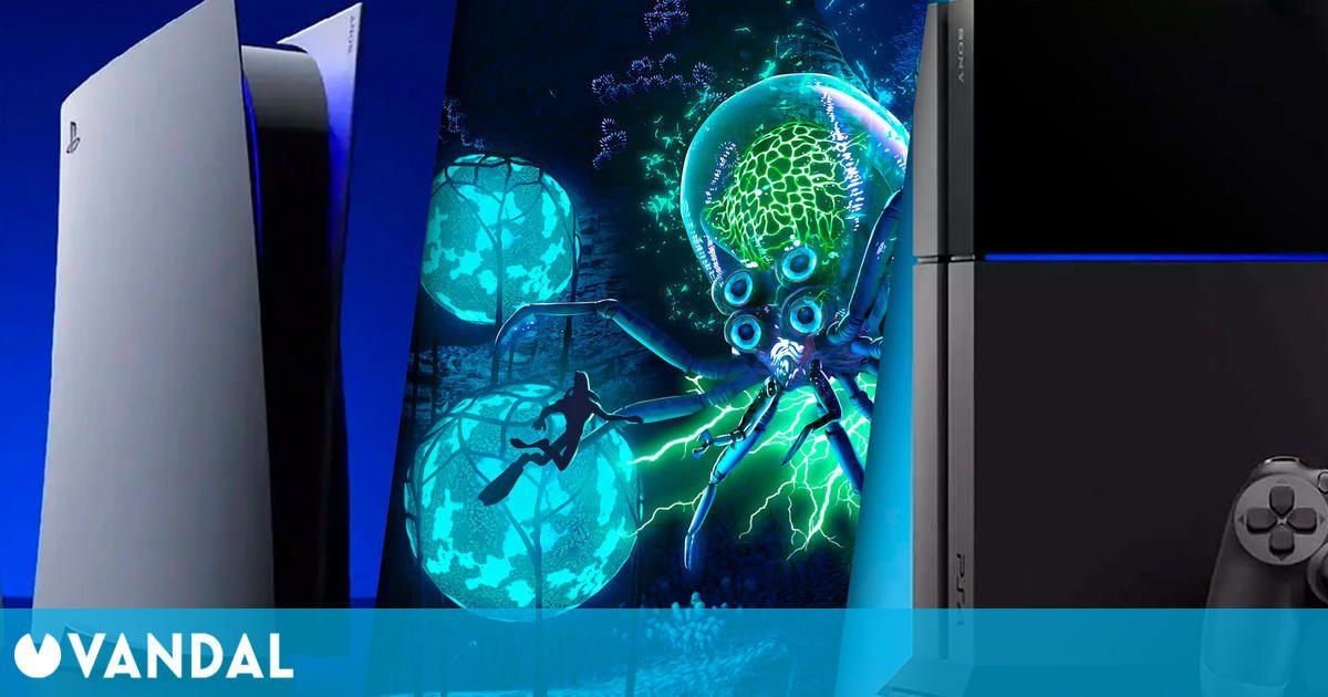 La instalación de Subnautica en PS5 ocupa un 30 % del tamaño de PS4