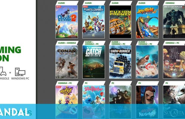 Xbox Game Pass recibe este mes Knockout City, The Wild at Heart, SnowRunner y más