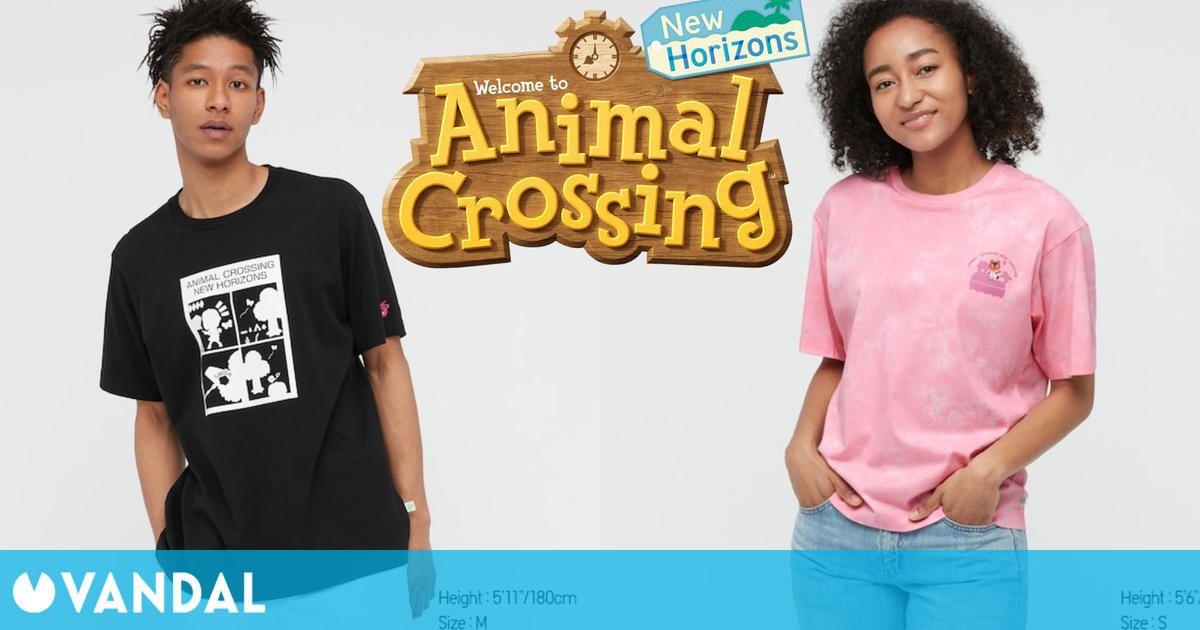 En mayo llegará una nueva línea de ropa basada en Animal Crossing: New Horizons