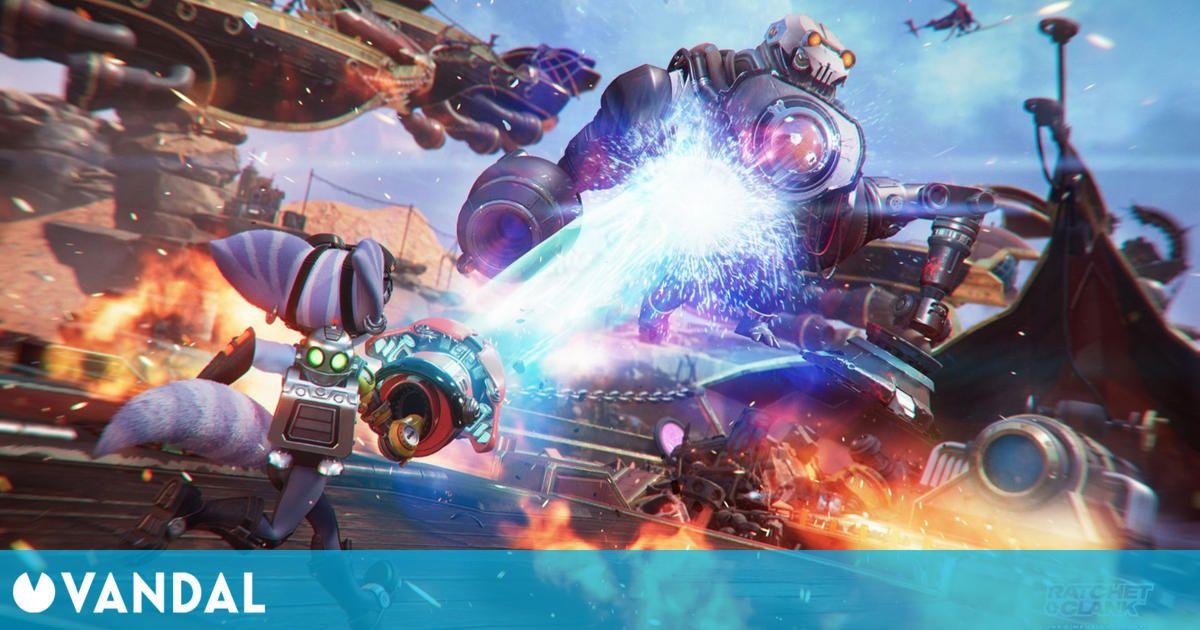 Ratchet and Clank: Una dimensión aparte muestra sus divertidas armas en un nuevo tráiler