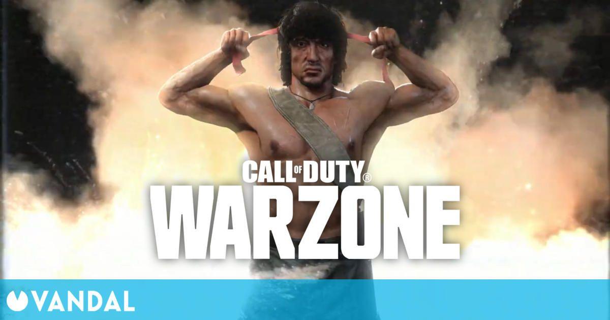 Call of Duty: Warzone presenta a Rambo y McClane en un nuevo tráiler ochentero