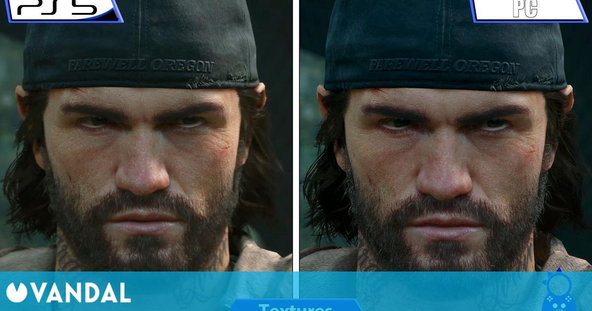 Así se ve Days Gone en PC vs PS5 mediante retrocompatibilidad