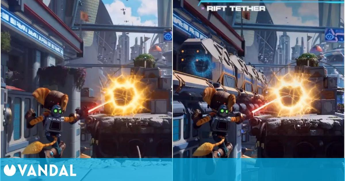 Ratchet and Clank: Una Dimensión Aparte: Así han cambiado sus gráficos desde Gamescom 2020