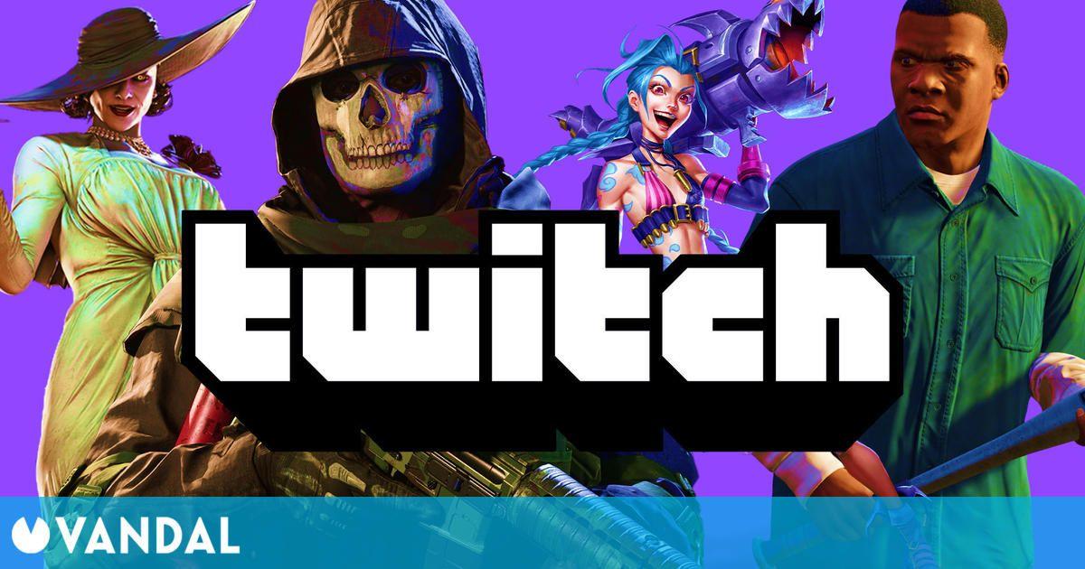 Estos son los 15 videojuegos más vistos de Twitch: GTA 5, League of Legends, COD: Warzone…