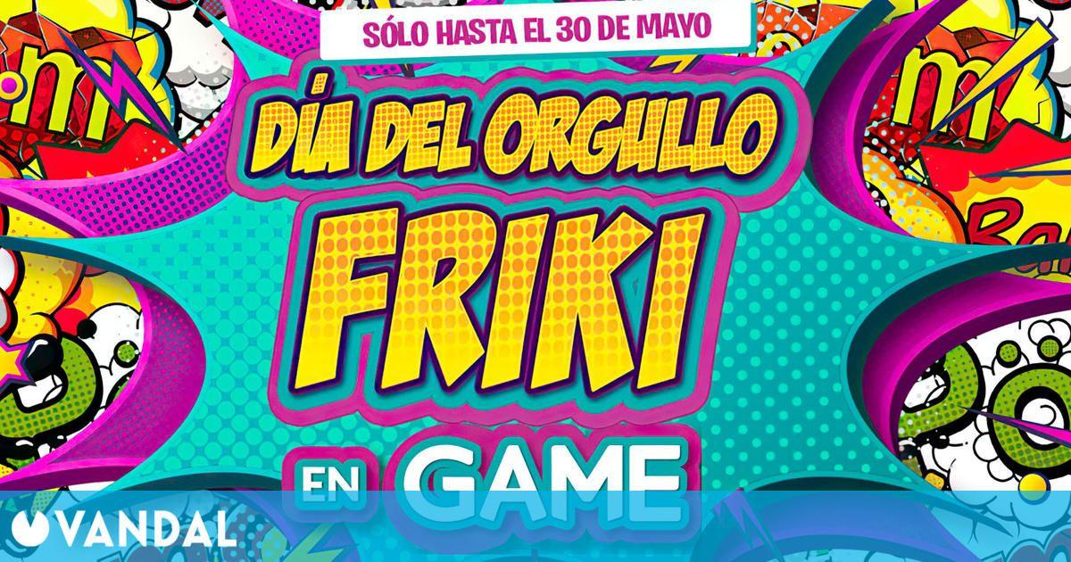 GAME España anuncia ofertas en juegos, consolas y más con motivo del Día del orgullo friki