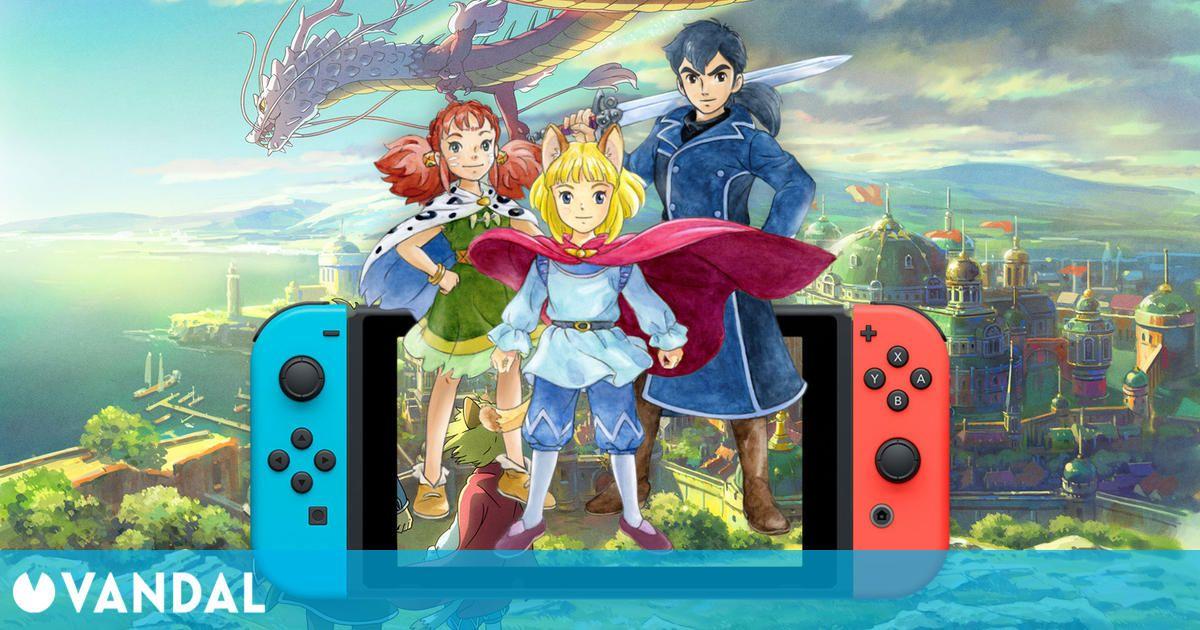 Ni No Kuni II: El Renacer de un Reino anunciado para Switch: Llegará el 17 de septiembre