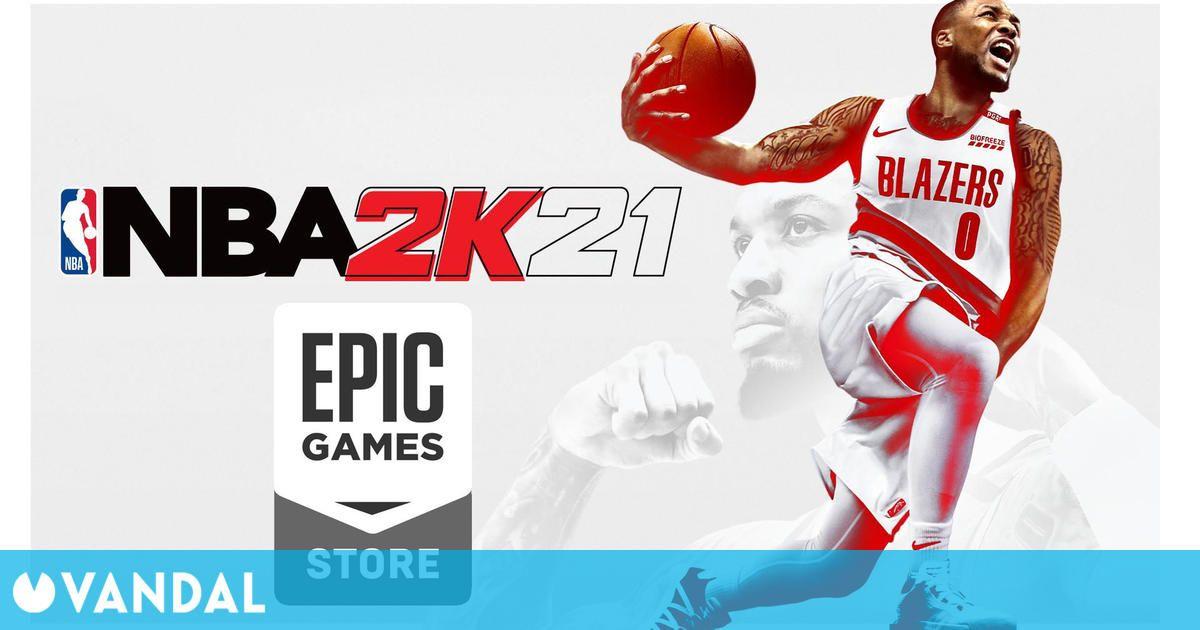 NBA 2K21 disponible gratis para PC en Epic Games Store