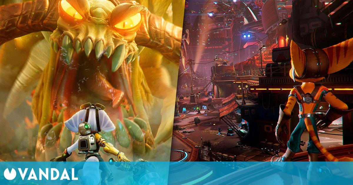 Ratchet & Clank: Una Dimensión Aparte presenta algunos de sus espectaculares mundos