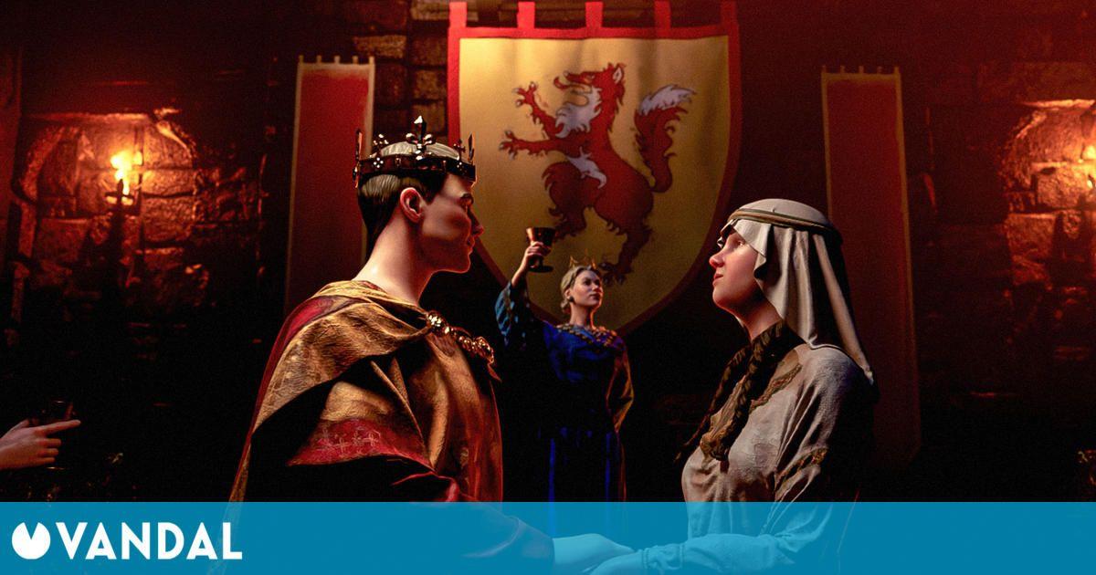 Crusader Kings III presenta Royal Court, su primera gran expansión